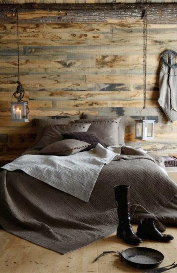 schlafzimmer-aus-massivholz-super-schöne-ziegelwand