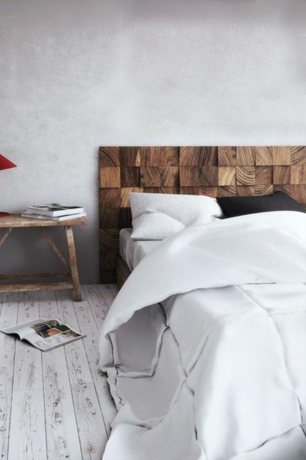 schlafzimmer-aus-massivholz-weiße-bettwäsche