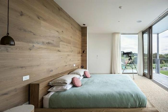 wandverkleidung modern schlafzimmer m246belideen