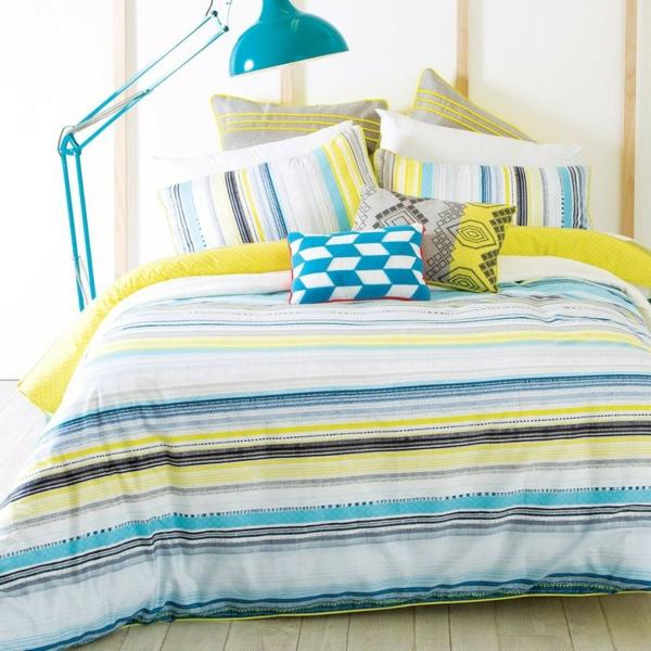 schlafzimmer-inspiration- schlafzimmer-gestalten-schöne-bettwäsche-