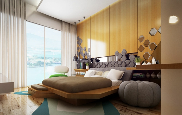 gstezimmer einrichten 50 wunderbare ideen - Schlafzimmerideen Der Mnner Rot
