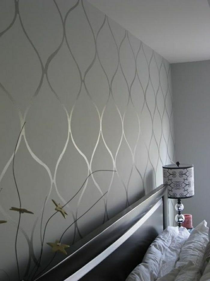 Tapete In Grau - Stilvolle Vorschläge Für Wandgestaltung