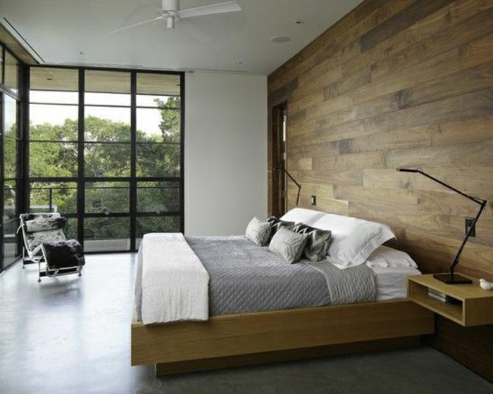 schlafzimmer-wandgestaltung-holz-schöne-wände-wohnzimmer-wandgestaltung