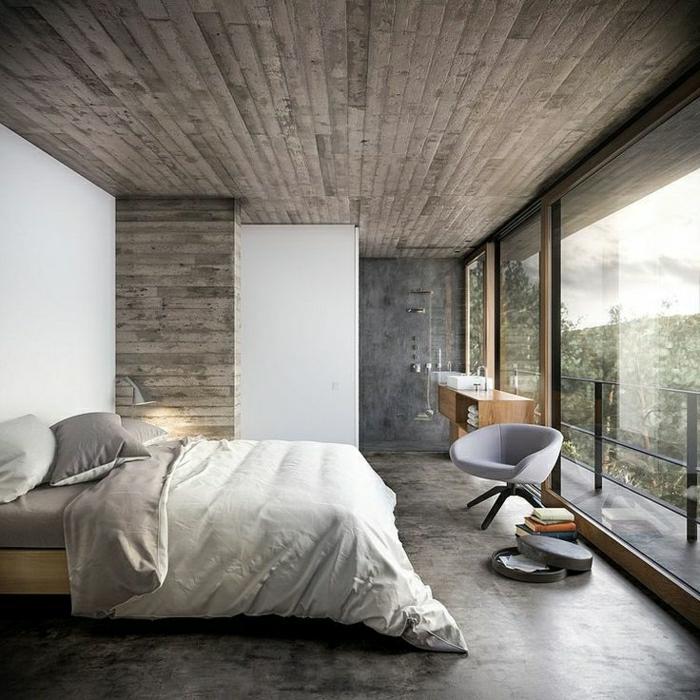 schöne wohnzimmer decken: -wandgestaltung-holz-schöne-wände-wohnzimmer-wandgestaltung