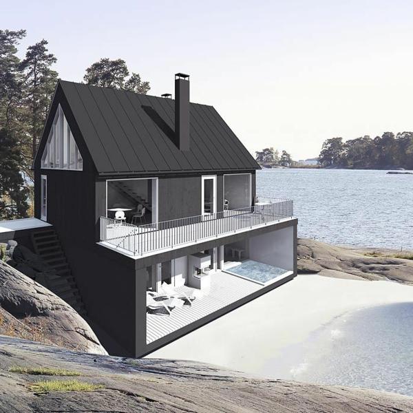 das erw nschte strandhaus 45 atemberaubende designs. Black Bedroom Furniture Sets. Home Design Ideas