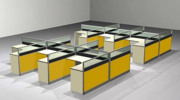 sichtschutz-büro-modernes-aussehen-gelbe-akzente