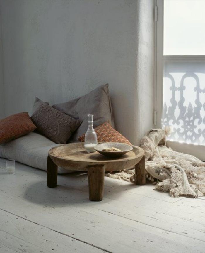 simples-Boho-Stil-Schlafzimmer
