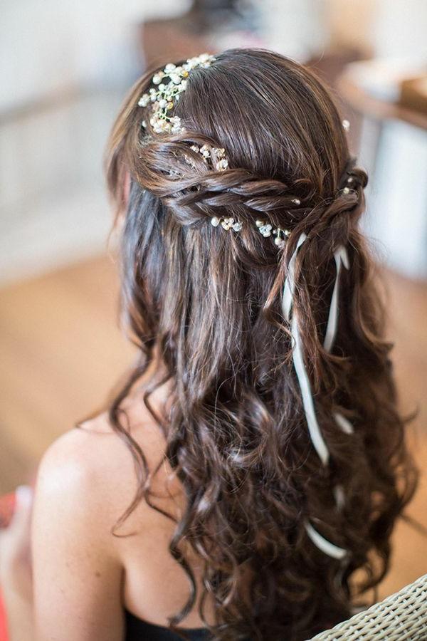 Hochzeitsfrisuren fur langes haar