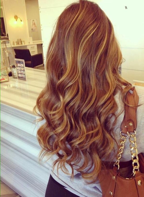schöne lange haare