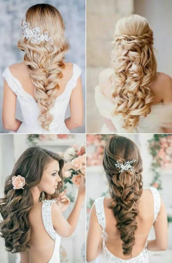 styling-für-lange-haare-vier-interessante-bilder-elegante-frisuren