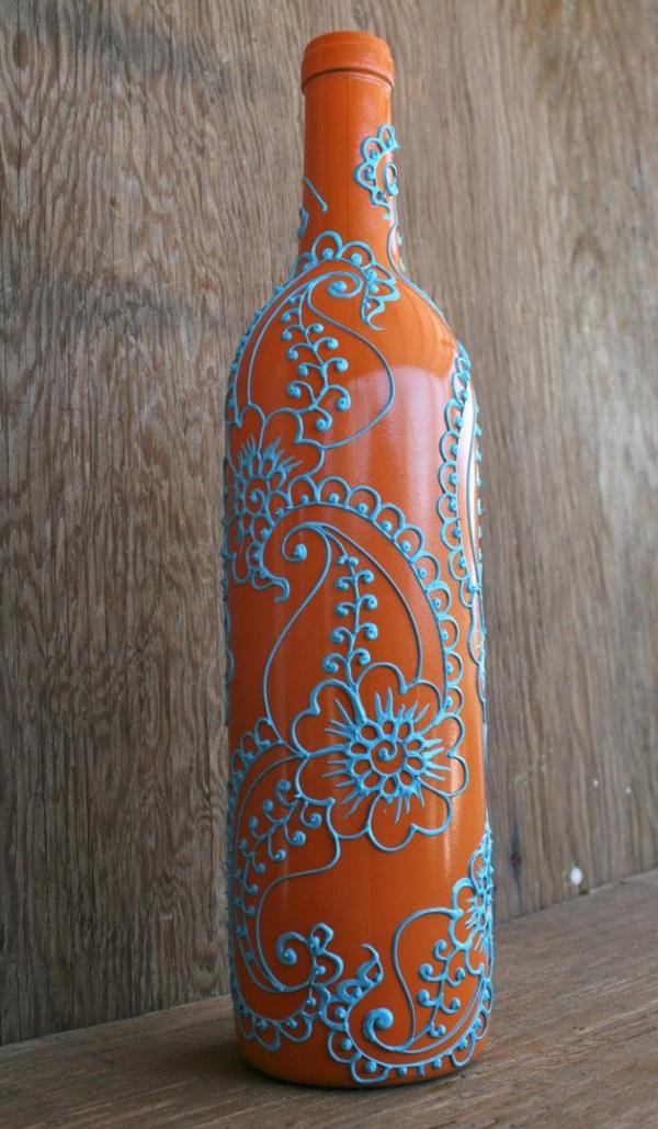 dekorierte bodenvasen aus glas