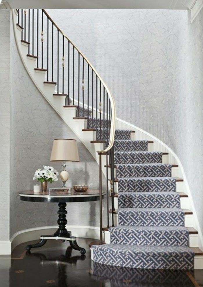 Tapete in Grau - stilvolle Vorschläge für Wandgestaltung ...