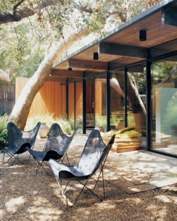 TerrassenUberdachung Holz Bilder ~ terrassenüberdachung aus holz super tolles modell von liegestühlen
