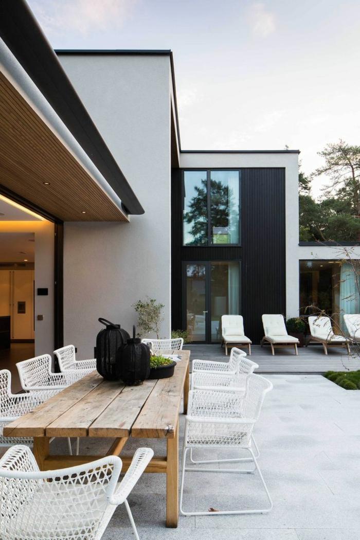 40 Bilder: moderne attraktive Terrassenüberdachung ...