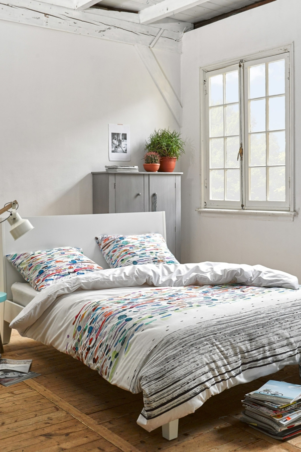 tolles-schlafzimmer-gestalten-elegante-bettwäsche-schöne-bettwäsche--schlafzimmer-inspiration-