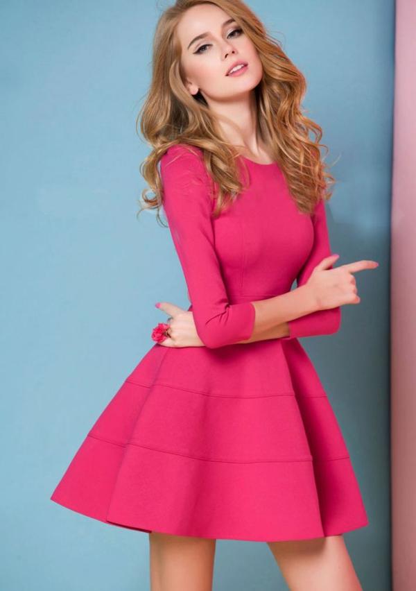 Rosa Kleid - 21 schöne und trendige Modelle - Archzine.net