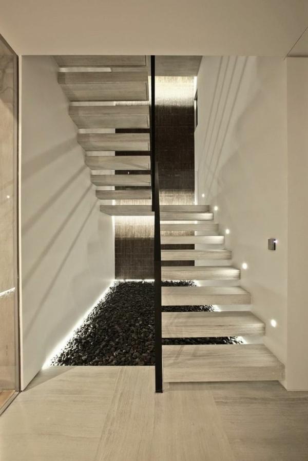 Treppe Modern moderne schicke treppen beleuchtung archzine