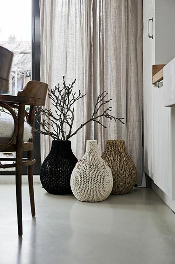 dekoration wohnzimmer vasen m belideen. Black Bedroom Furniture Sets. Home Design Ideas