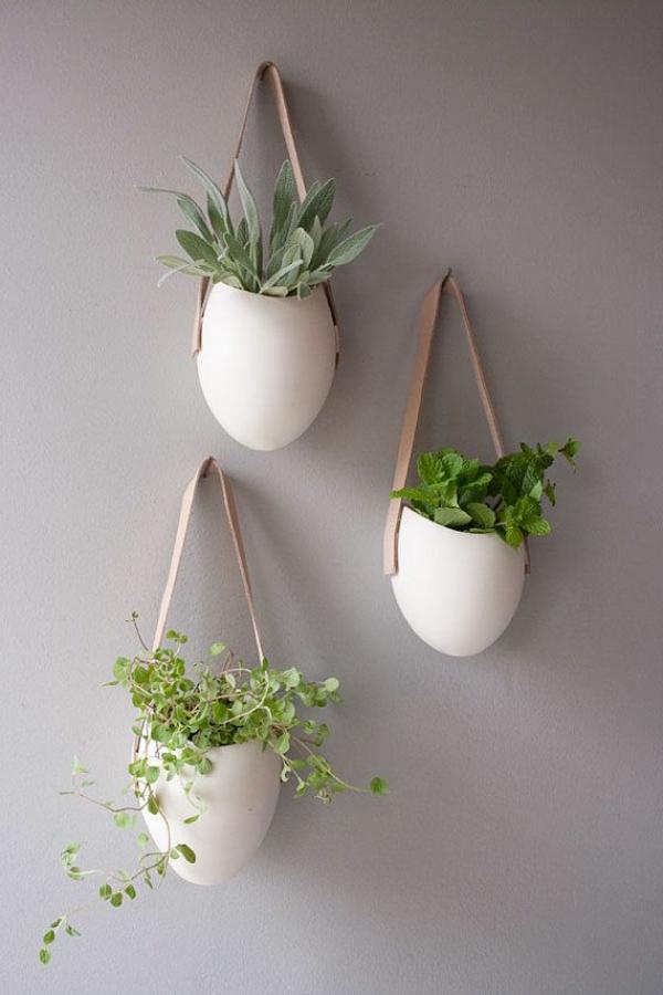 vasen-dekorieren-hängende-modelle