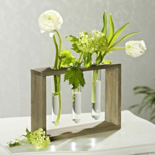 vasen-dekorieren-weiße-schöne-blumen