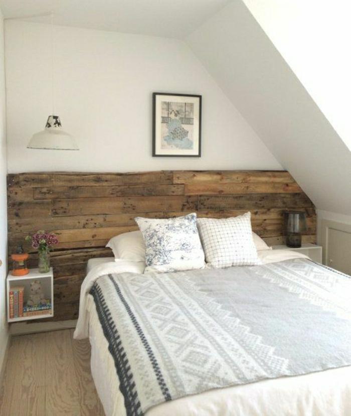 Schlafzimmer ideen wandgestaltung holz  Wandverkleidung aus Holz - 95 fantastische Design Ideen - Archzine.net