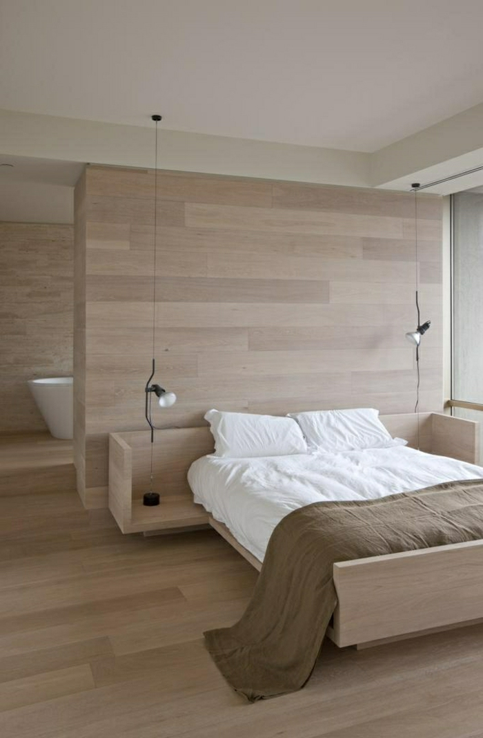wandgestaltung-holz-schöne-wände-wohnzimmer-wandgestaltung-schlafzimmer