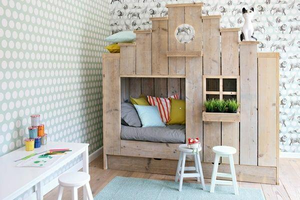 Wandgestaltung Kinderzimmer Tapeten Kinderzimmer Gestalten Kinderzimmer  Ideen