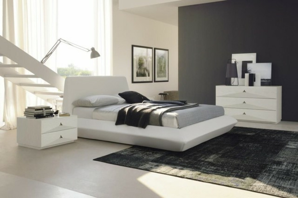 schlafzimmer ideen wandgestaltung grau just another. Black Bedroom Furniture Sets. Home Design Ideas