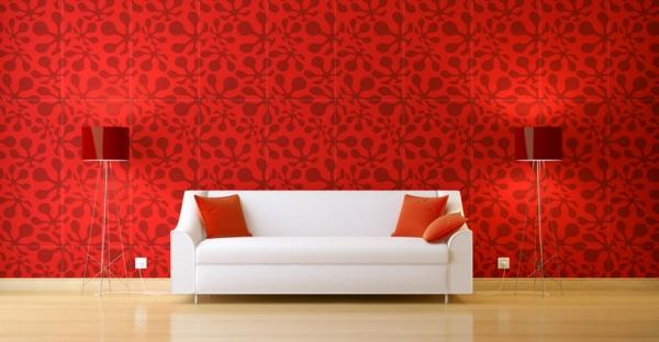 Charmant Rote Wand U2013 50 Ideen Mit Wandfarbe Rot !