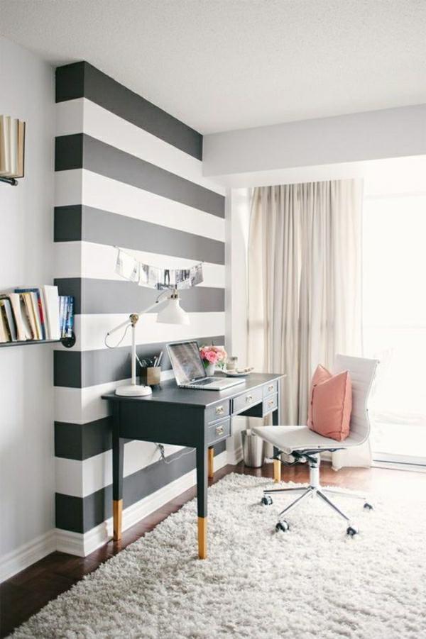 wandtapete-schwarz-weiß-streifen-tapeten