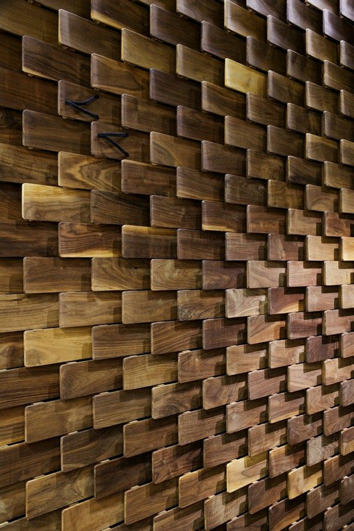 Wall Design Wood Work : Wandverkleidung aus holz fantastische design ideen