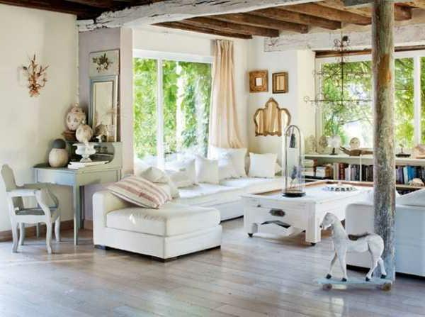 weiße-dekoration-für-landhaus-tolles-aussehen-im-zimmer