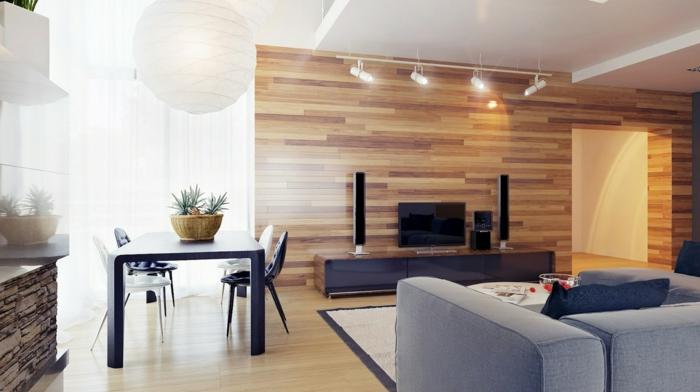 wohnzimmer-gestalten-schöne-tapeten-holzoptik-wandgestaltung-wand-holzoptik-tapete-tapeten-ideen