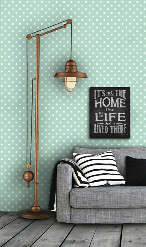 Sch?ne Tapeten Babyzimmer : wohnzimmer-tapeten-retro-tapeten-vintage-tapete-sch?ne-tapeten