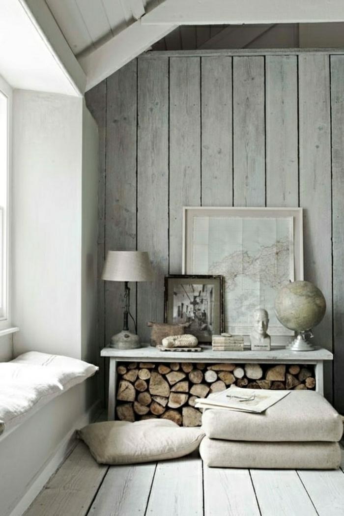 schöne wohnzimmer uhren:wohnzimmer-wandgestaltung-holz-schöne-wände-wohnzimmer
