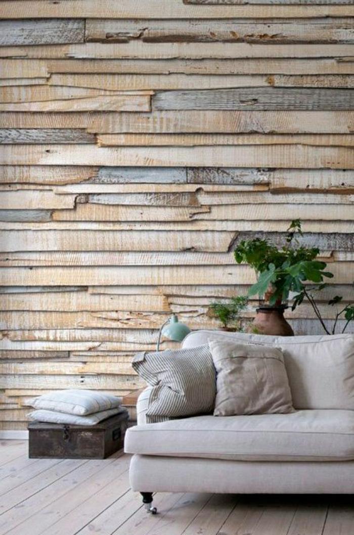schöne wohnzimmer wände:wohnzimmer-wandgestaltung-holz-schöne-wände-wohnzimmer