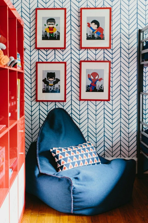 wohnzimmer-wandgestaltung-schöne-tapeten-wohnzimmer-tapete--