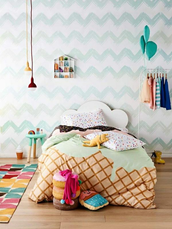 Farbgestaltung Kinderzimmer Beispiele : tapetekinderzimmertapetenkinderzimmerwandgestaltungkinderzimmer [R