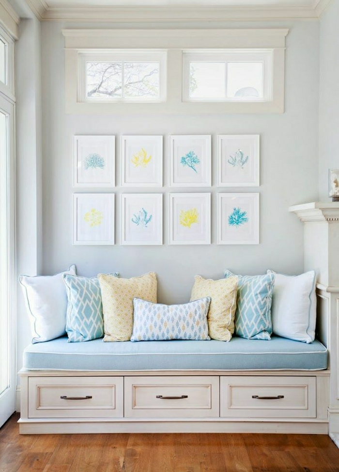 Zarte Pastellfarben Moderne Gestaltung