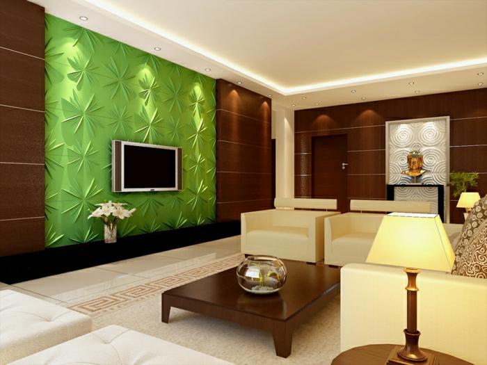 Einrichtungsideen wohnzimmer braun  Einrichtungsideen Wohnzimmer Braun