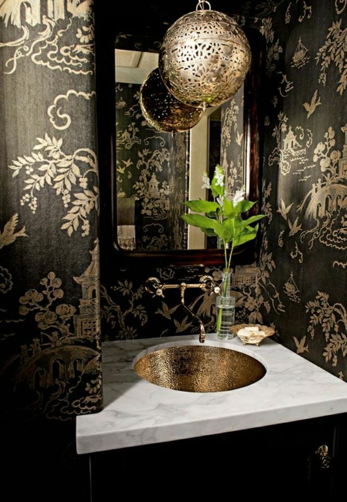 Die Barock Tapete In 48 Wunderschönen Design Ideen Archzinenet