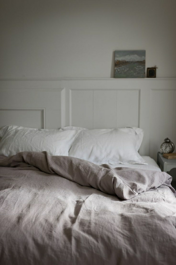 Bettwäsche-Pastellfarben-lila-weiß