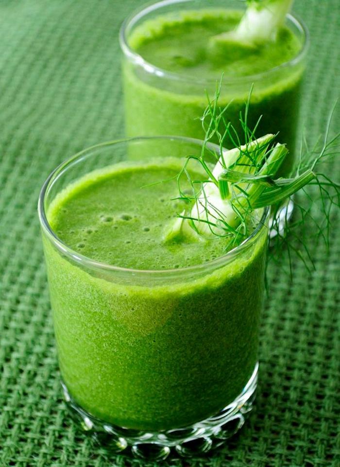 Birne-Fenchel-Gemüse-Smoothie