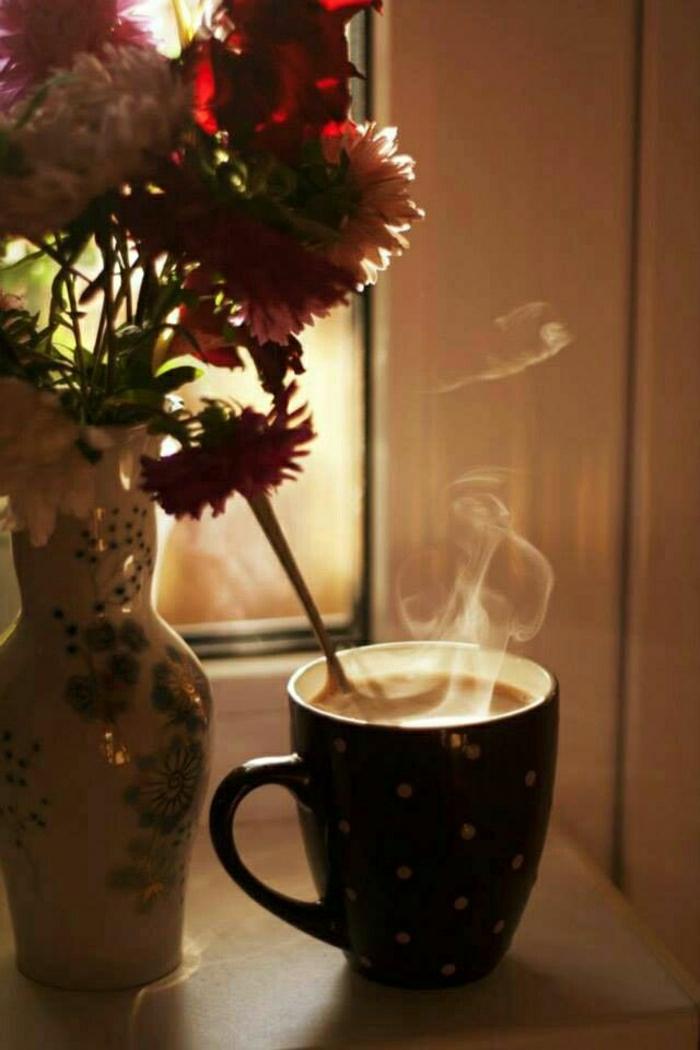 Cappuccino-Duft-Morgen