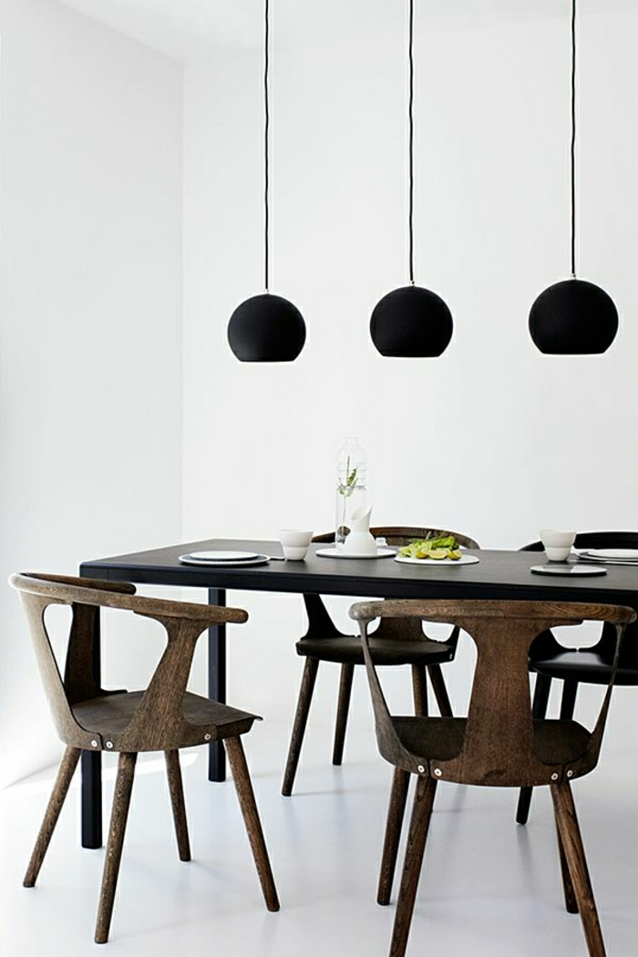 Esszimmer-minimalistisch-skandinavisch-Esstisch-Stühle-Holz