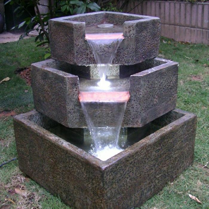 52 erstaunliche bilder von gartenbrunnen zum inspirieren, Garten und Bauen