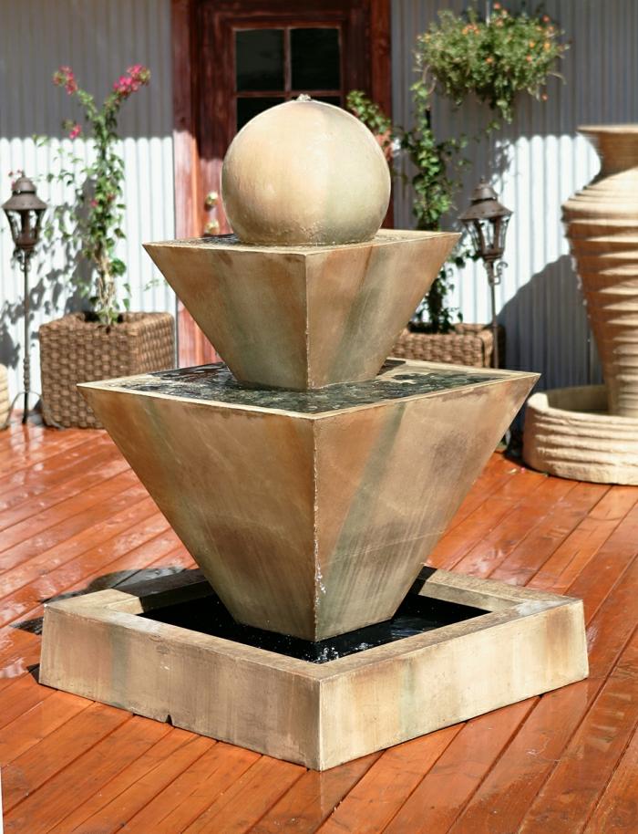 52 erstaunliche Bilder von Gartenbrunnen zum Inspirieren ...