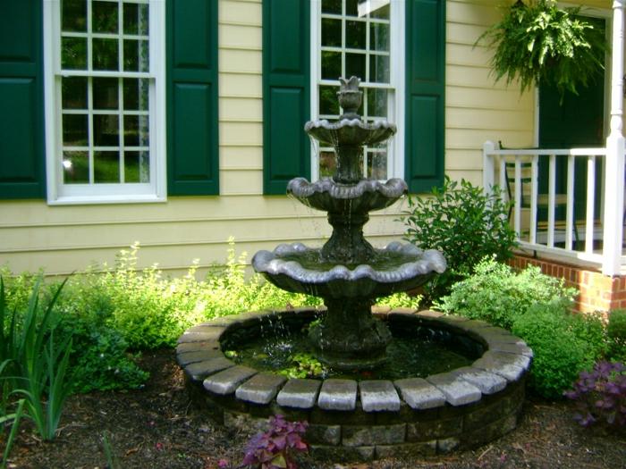 Haus-Garten-Wasserbrunnen-klassisches-Modell