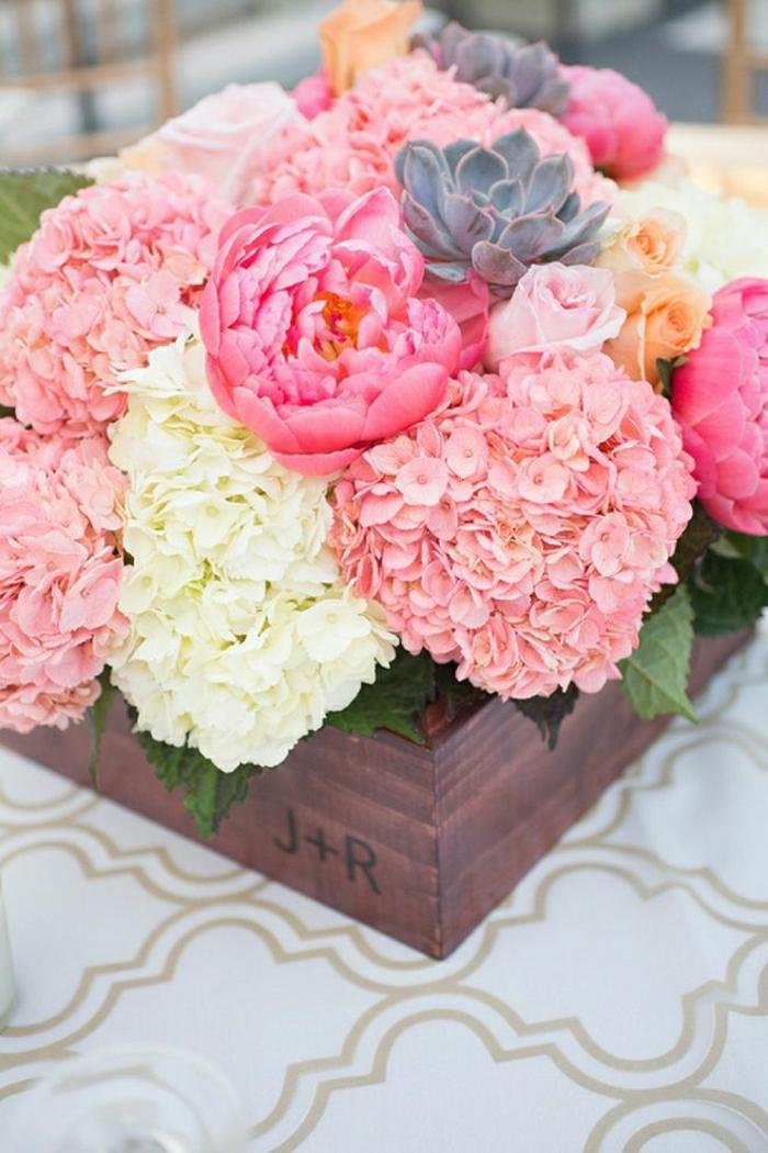 Hochzeit-Deko-Idee-Blumen