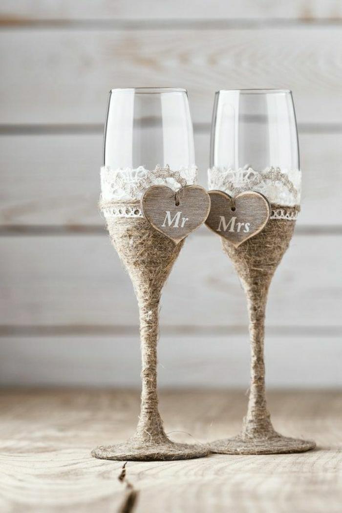 Hochzeitsgläser-rustik